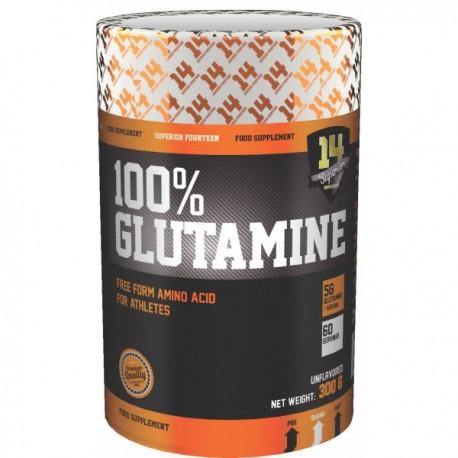 SUPERIOR 14 100% Glutamine 300gr