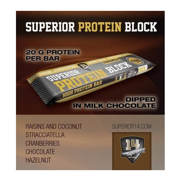 SUPERIOR 14 Superior Protein Blocks 80 GR