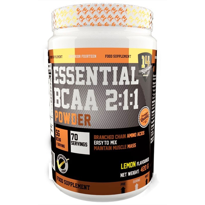 SUPERIOR 14 Essentiel BCAA 2.1.1 Powder 270gr