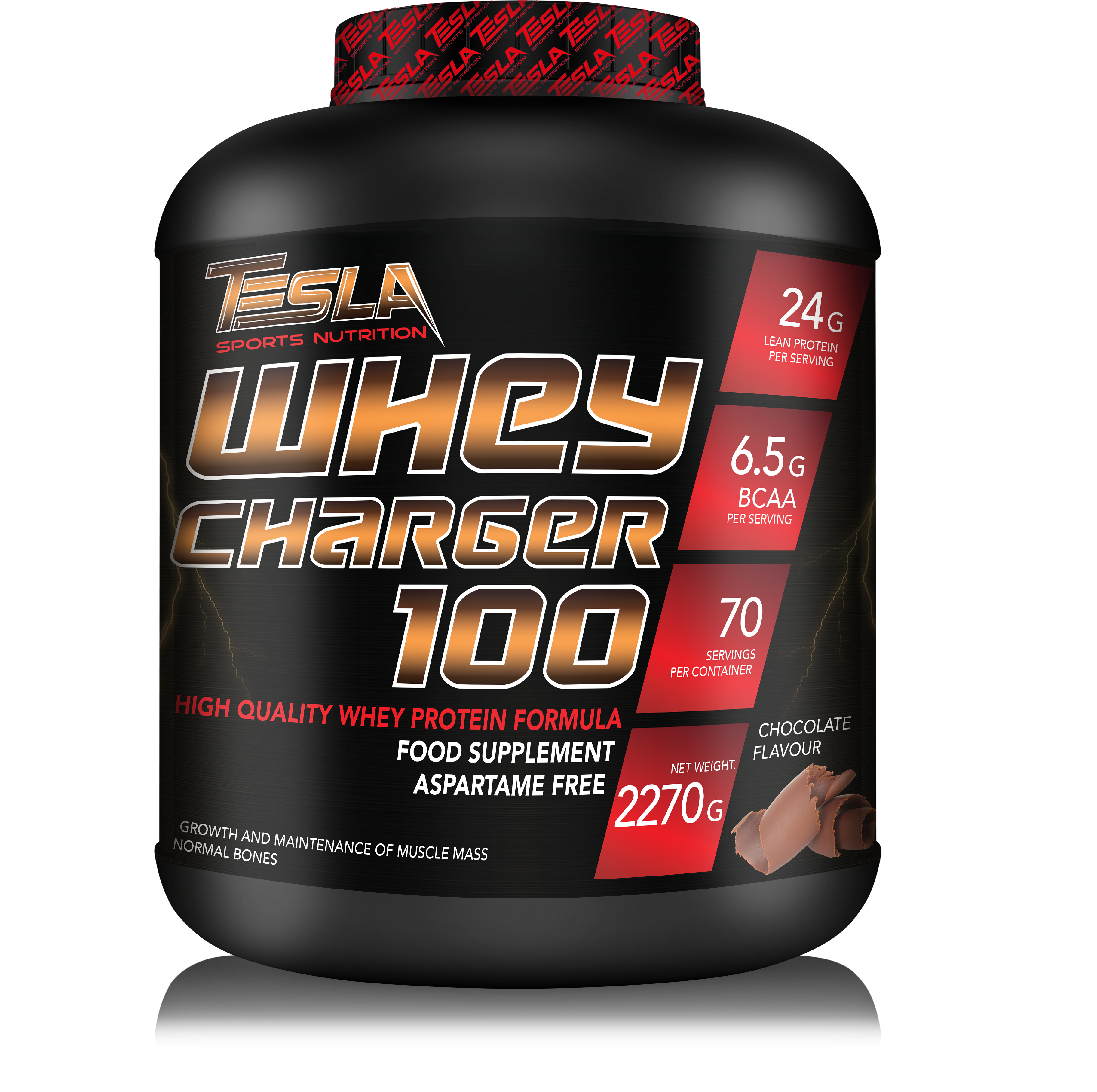 Tesla WHEY CHARGER 100 2,27 kg