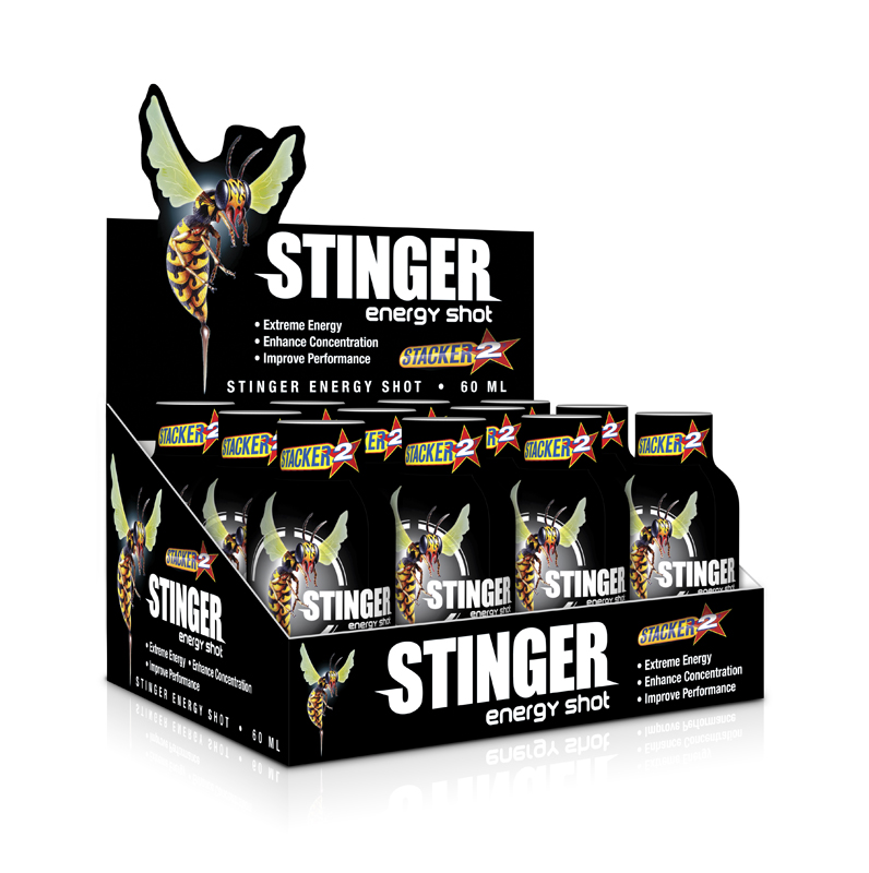 STACKER Stinger Energy Shot