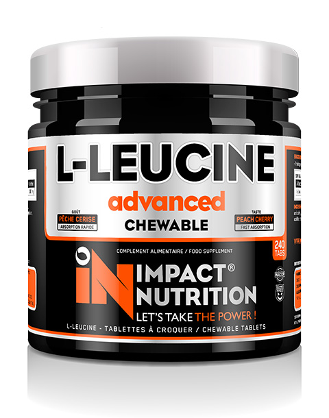 IMPACT NUTRITION L-LEUCINE CHEWABLE