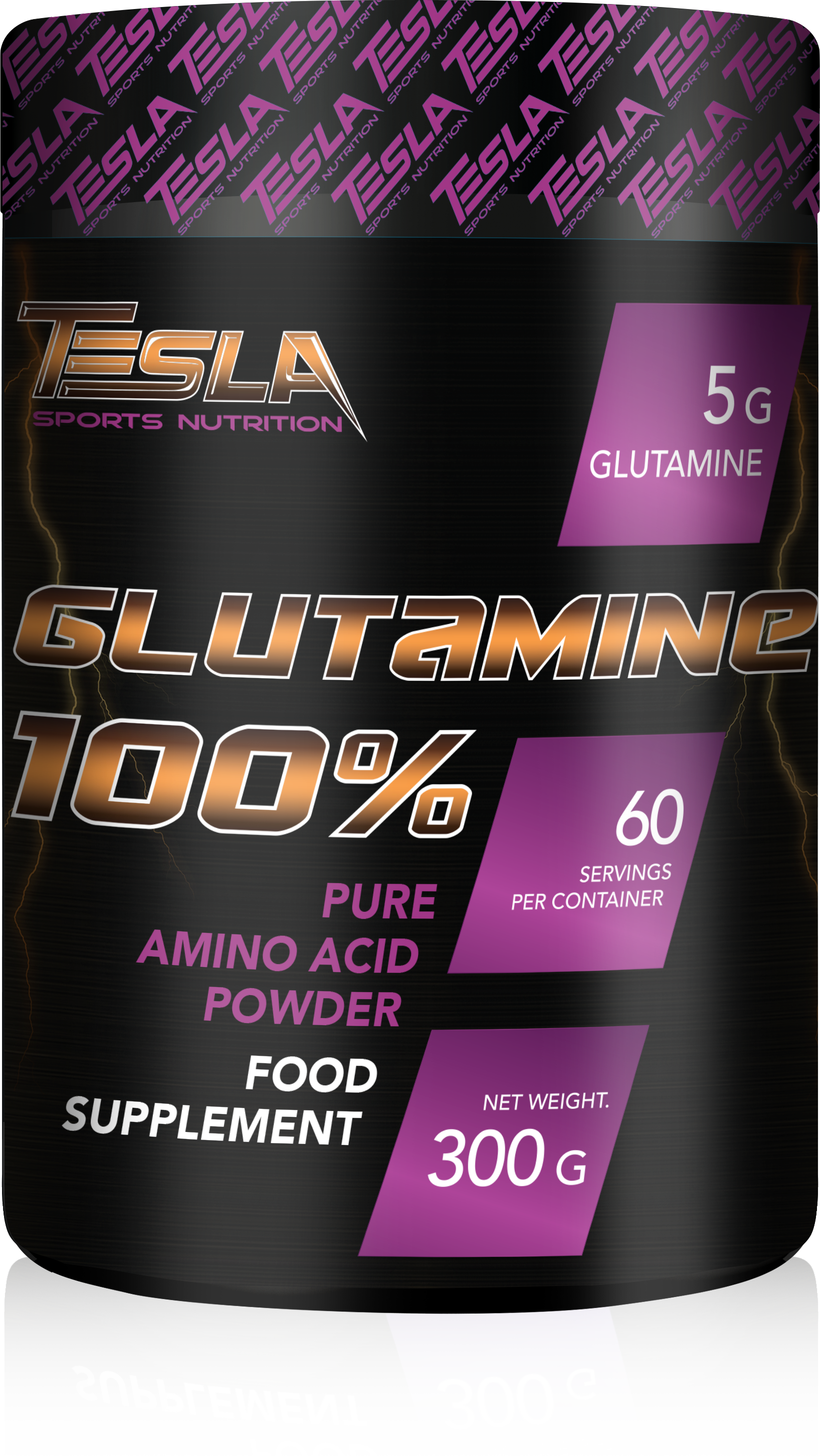 Tesla Glutamine 100% 60servings