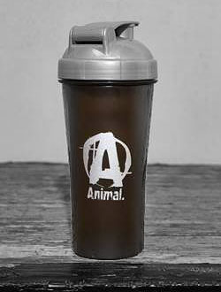 UNIVERSAL NUTRITION ANIMAL SILVER SHAKER BOTTLE Limited edition
