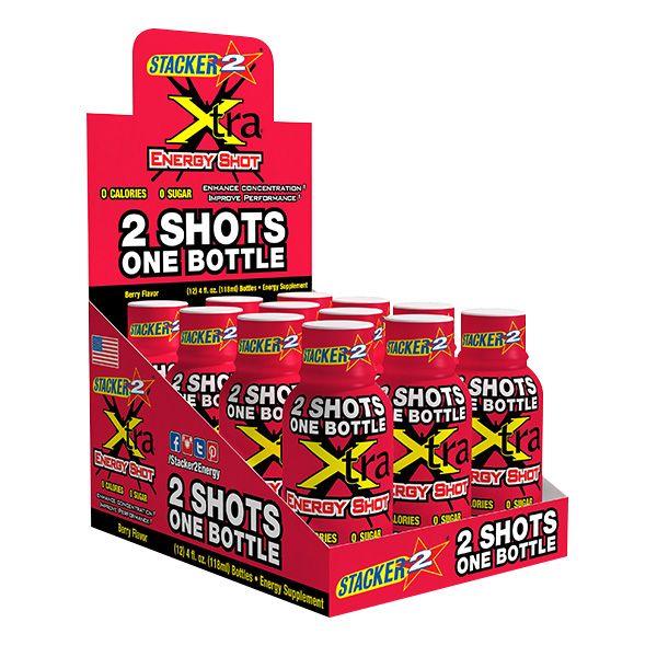 STACKER Xtra Energy Shot