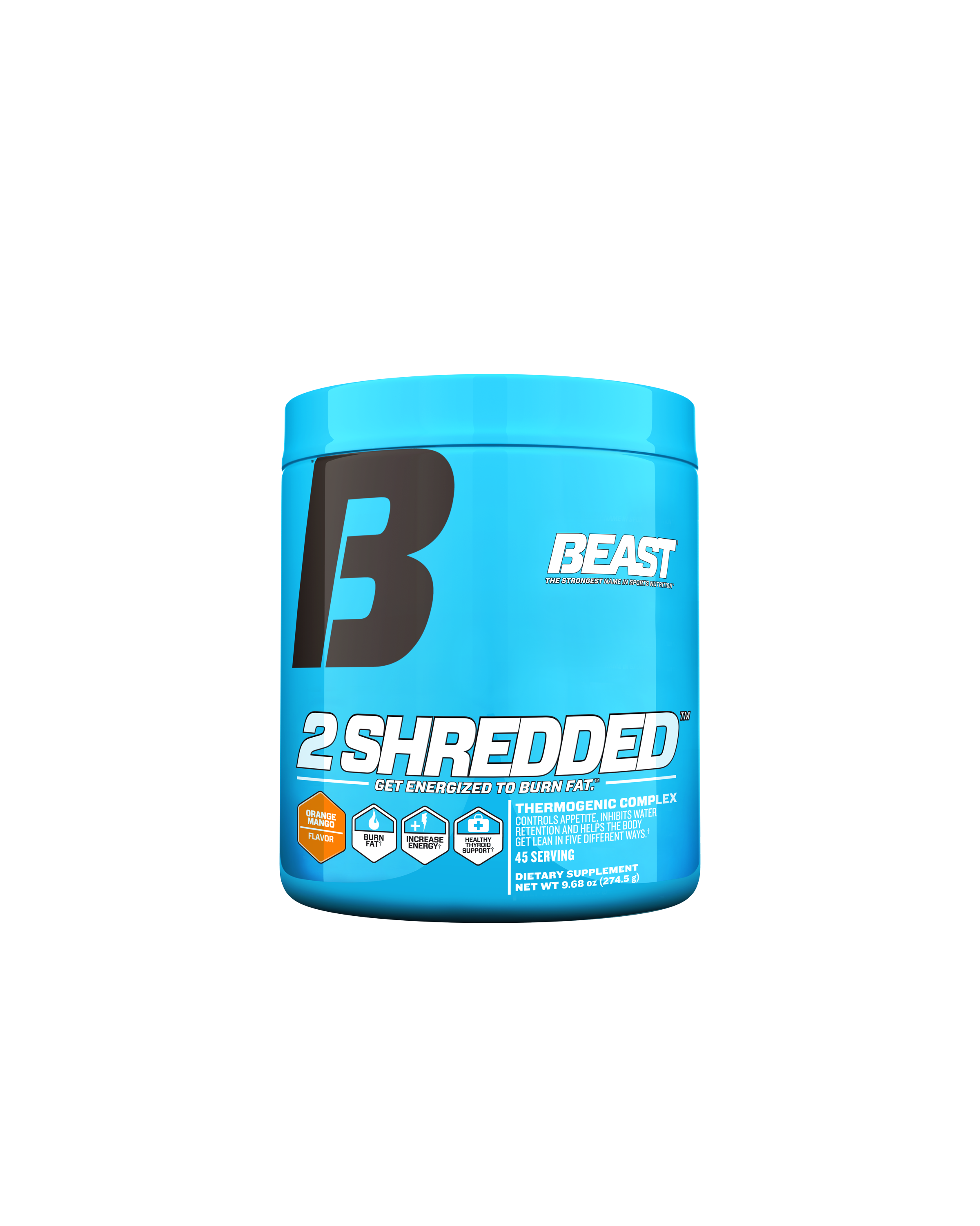 2 SHREDDED – POWDER 45 servings