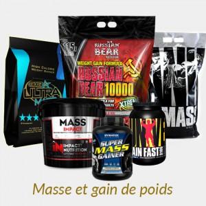 Masse et gain de poids