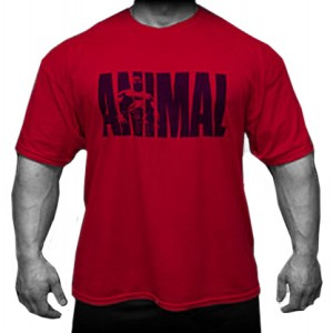 T-SHIRT - ANIMAL ICONIC RED